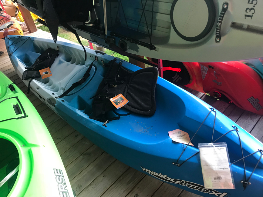 Recreational Kayak List - Caney Fork Outdoors - Blems